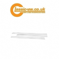 Mk1 Golf Waist & Sill Trims 3 Door Chrome